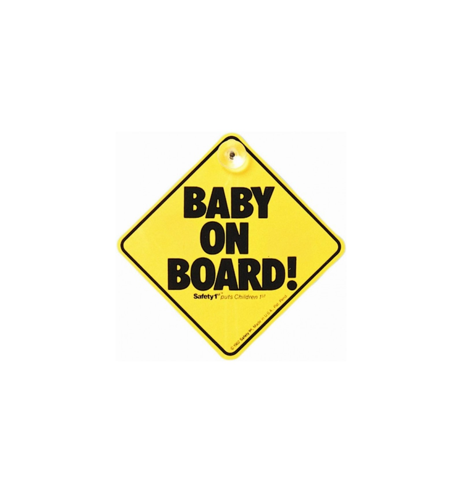 Safety First Baby On Board Sign Mari Kali Babies