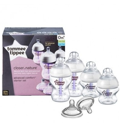 Closer to Nature Advanced Comfort Bottle Starter Kit