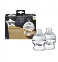 Closer to Nature Advanced Comfort Bottles 150ml Twin Pack