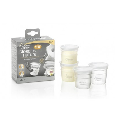 Closer to Nature Breast Milk Storage Containers Mari Kali Babies