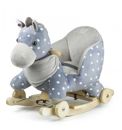 Kinderkraft Grey Horse Ride-On Rocker