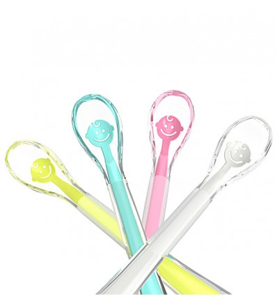 BabyOno Baby Smile Silicone Spoon
