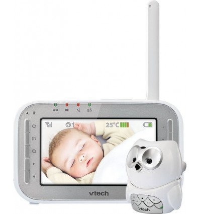 Vtech BM4300 Owl Video/Audio Baby Monitor