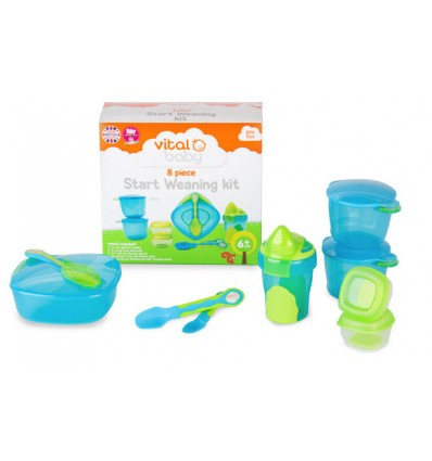 Vital Baby 8 Piece Start Weaning Kit