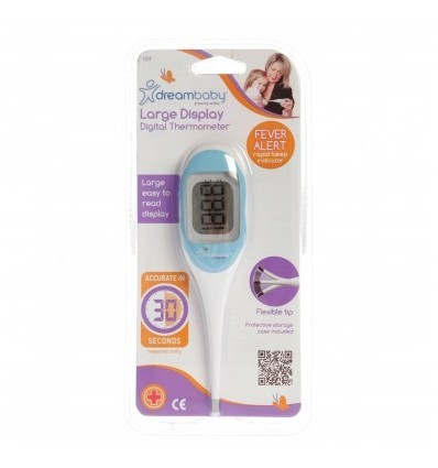 LARGE DISPLAY DIGITALTHERMOMETER Dreambaby