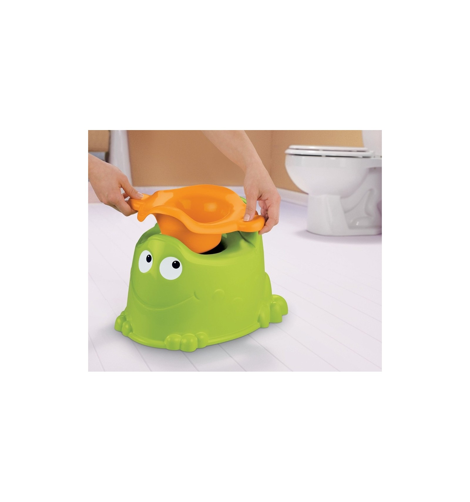 Fisher Price Custom Comfort Froggy Potty Mari Kali Babies